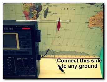 SWL-4-50), Shortwave, SWL, AM, OC, HAM, Broadcast band, End Fed